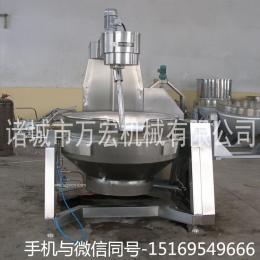 万宏机械300型电加热行星搅拌炒锅 酱料炒锅
