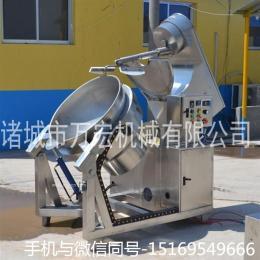 供应万宏机械300型电加热行星搅拌炒锅 酱料炒锅