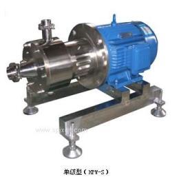 HPW型 卧式剪切型均质乳化机