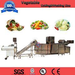 学生营养餐 蔬菜清洗机,中央厨房洗菜机,净菜粗切洗生产线