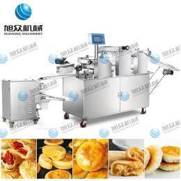 云南鮮花餅機 酥餅生產線 肉松餅機 蔥油餅機 綠豆糕機 酥餅包餡機 酥餅成型機