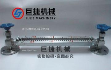 不锈钢玻璃管液位计、不锈钢快装玻璃管液位计