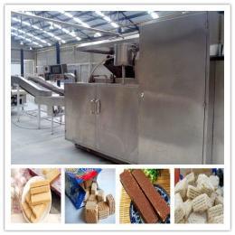 上海威化餅干生產流水線
