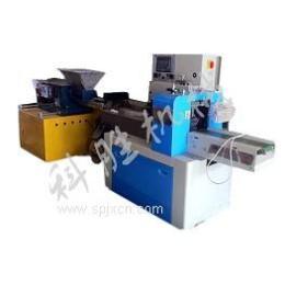 石家莊市科勝全自動橡皮泥包裝機丨軟糖包裝機