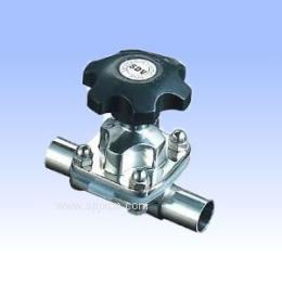 GMF64不銹鋼衛生級焊接隔膜閥