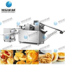 廣州酥餅機廠家 云南鮮花餅機 云南玫瑰花餅機 新款二道搟面酥餅機 鮮花餅生產線