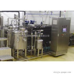 中小式草莓酸奶饮料生产线设备