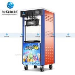 广州冰淇淋机厂家 双色冰淇淋机 硬冰淇淋机 软冰淇淋机 新款立式冰淇淋机