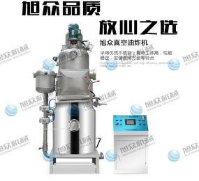 薯条油炸生产线 果蔬脆片油炸机 菠萝蜜真空油炸机 真空低温油炸机 水产品油炸机