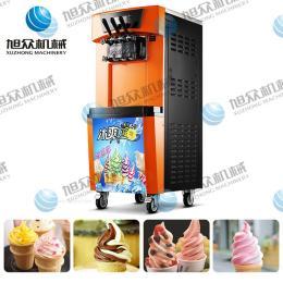 广州冰淇淋机厂家 立式冰淇淋机 新款冰淇淋机 小型冰淇淋机 双色冰淇淋机