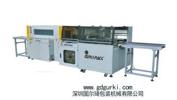 直銷 全自動高速邊封收縮包裝機GPL-5545H+熱收縮機