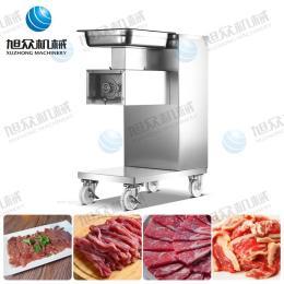 广州切肉机厂家 新款切肉机 小型切肉机 滑轮式切肉机 多功能切肉机 切肉片机