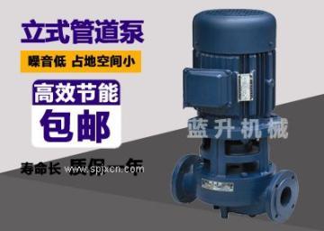 供应济南农田浇地管道循环泵/立式管道泵厂家