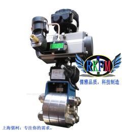 Q667F-100气动高温高压焊接球阀