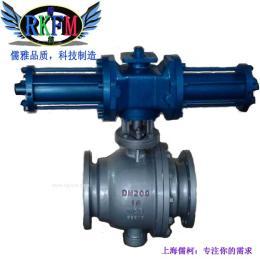 Q741F-320液动高压法兰球阀