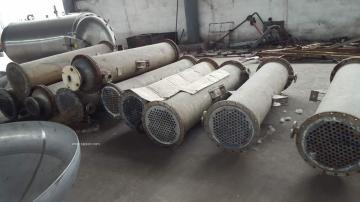 二手20平方鈦管冷凝器