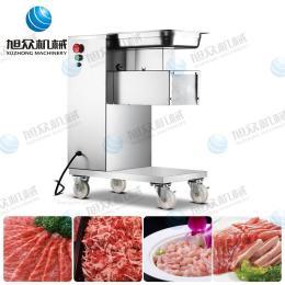 供应旭众牌切肉机 可方便移动的切肉机 多功能切肉机 小型切肉机 切肉机全自动