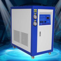 工业冷水机 5p化学反应釜专用冷水机组 5匹风冷冰冻机 冰水机