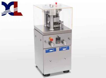 小型粉末压片机 不锈钢药材粉压片机 旋转式芍药粉压片机