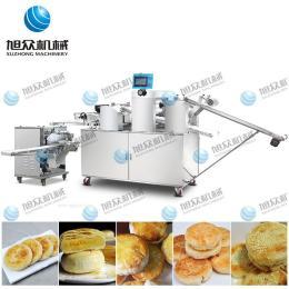 仿手工酥饼机 全自动酥饼机 云南鲜花饼机 新款三道擀面酥饼机 多功能酥饼机