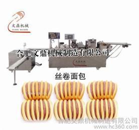 供应丝卷面包机  食品机械厂家直销