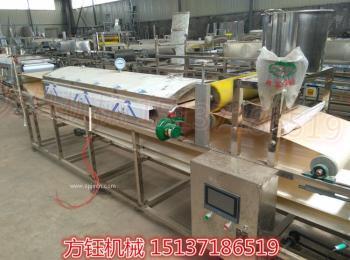 全自動涼皮機 自熟式米皮機 全不銹鋼制造 小本創業米面機械
