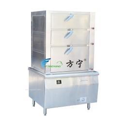 商用電磁 蒸柜  三門海鮮蒸柜