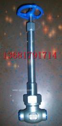 DJ61F-16P低温不锈钢焊接截止阀