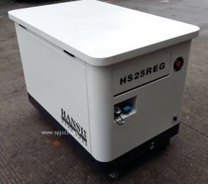 25KW静音发电机组 HANSI价格