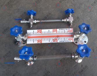 巨捷厂家 生产各种玻璃管液位计、水位计(带排污阀)