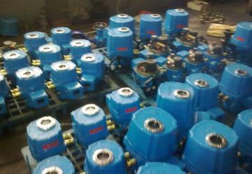 QT调节型电动执行器QT200  QT100 QT60