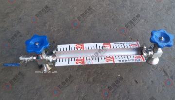 法兰连接玻璃管液位计、玻璃管水位计(带排污阀)巨捷  生产 直销