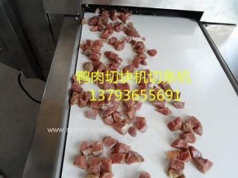 带皮猪肉切块机切条机器