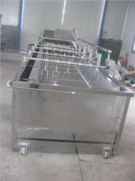 供應海帶、白菜、芹菜較大蔬菜機械手氣泡清洗機