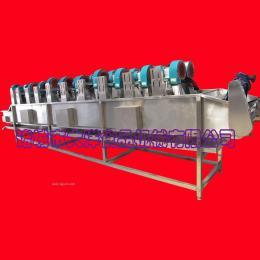 大洋制造食品包装袋风干线\双排风机酱料包除水设备
