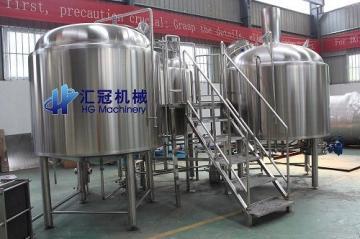 匯冠啤酒設備50-6000L糖化設備