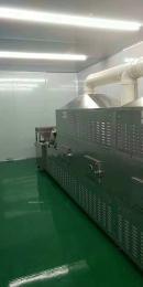 隧道式杂粮红豆微波烘焙设备