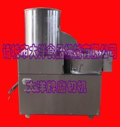 大洋制造不锈钢土豆磨切机//畅销型一体式脱皮切丝机