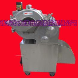 不锈钢电动土豆切丁机 拨盘式萝卜切丁设备