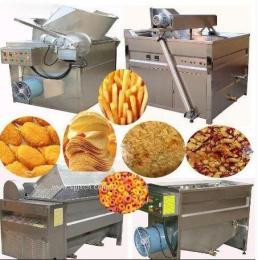 自动出料油炸锅 商用豆泡油炸机 猪蹄油炸机 电加热油炸机