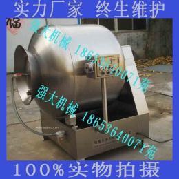诸城强大机械真空滚揉机  快速入味腌制机 不锈钢滚揉机 厂家直销 可定制