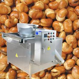 供应旭众电加热半自动油炸机 花生半自动油炸机 小型致富机械设备 蚕豆半自动油炸机