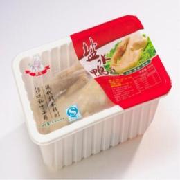 厂家定制全自动封盒机食品保鲜封盒封口气调包装机