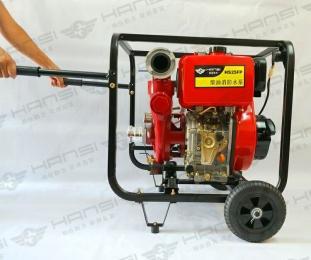 工业物业备用高压柴油2.5寸消防泵