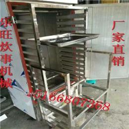 單門雙控饅頭蒸箱價格 樂旺供應江蘇浙江地區15盤單門蒸箱 包子蒸柜 電蒸箱