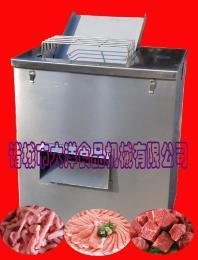 滚刀式切肉片机,大洋牌不锈钢猪肉切丁机