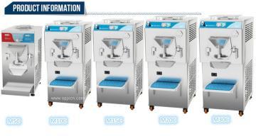立式全自动冰淇淋机智能型硬冰机杀菌凝冻机M10C