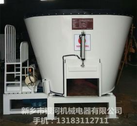 出口立式YH9立方全日粮TMR饲料搅拌机