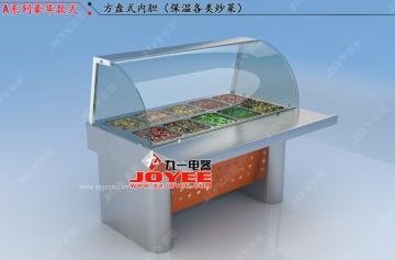 冷鲜肉柜快餐保温台快保温柜熟食柜熟食展示柜 保温展示柜