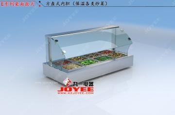 快餐保温展示柜 熟食保鲜柜 快餐加热展示柜 快餐保温